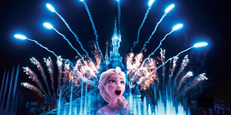 Disney illuminations in Disneyland Resort Paris